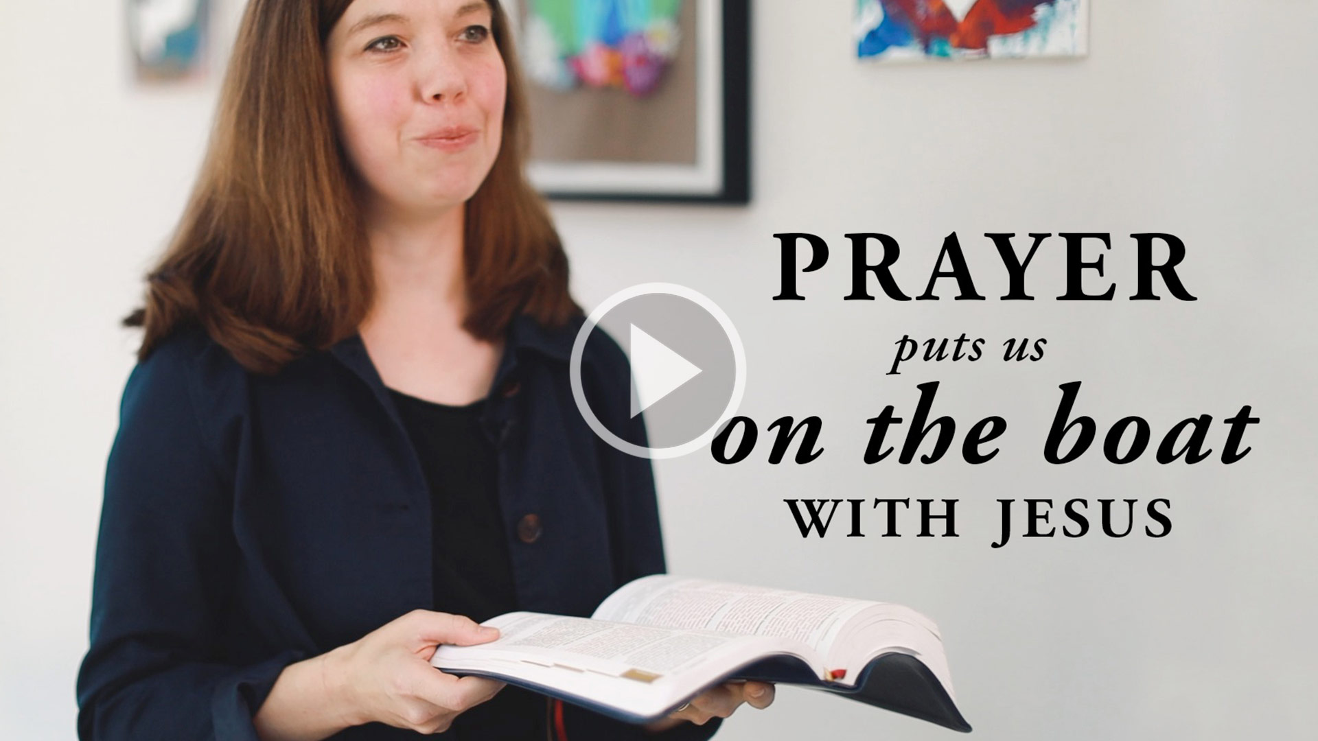 Prayer on the boat with jesus - Pray a Minute